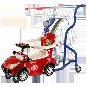 چرخ فروشگاهی کودک ماشین دار